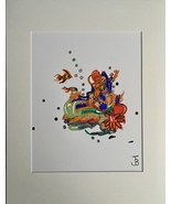 PSYCHEDELIC MERMAID (Large Size) - $25.00