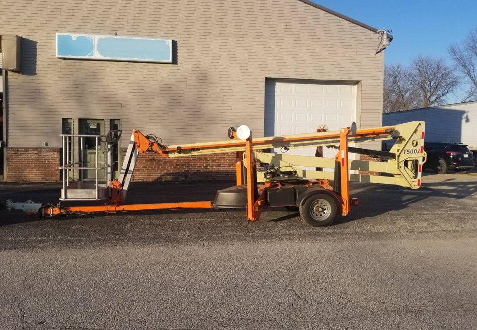 2014 JLG T500J TOWABLE BOOM LIFT FOR SALE IN 53963