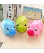 Plastic Coin Piggy Bank Mini Pig Money Saving 2019 Chinese Zodiac New Ye... - $8.99
