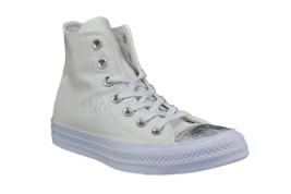 Womens Converse CT All Star Brush Off Hi Top Sneaker White/White 553304F - $53.00
