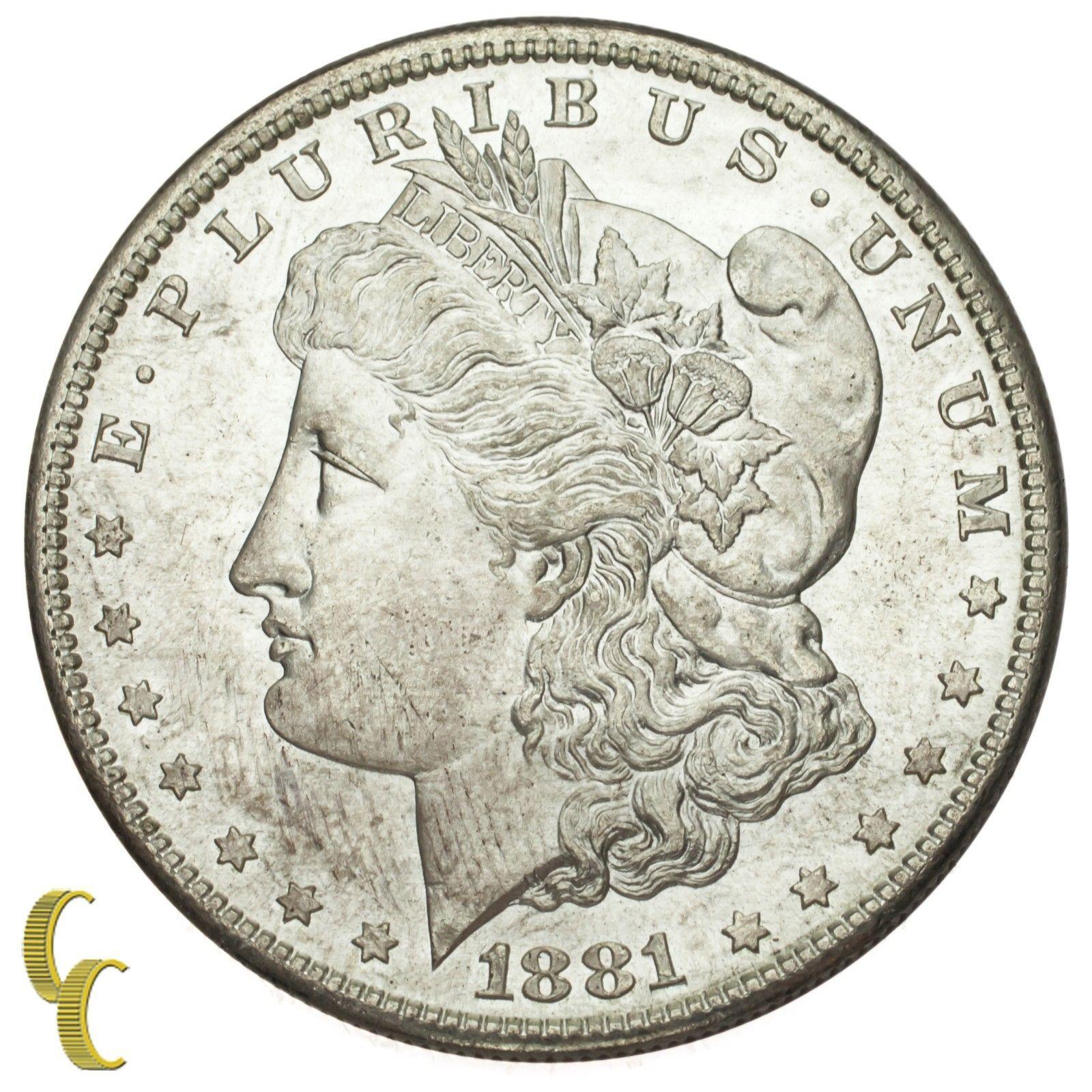 1881-S Silver Morgan Dollar $1 (Gem BU Condition) Terrific Eye Appeal