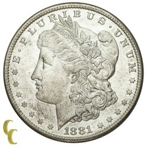 1881-S Silver Morgan Dollar $1 (Gem BU Condition) Terrific Eye Appeal - $178.19