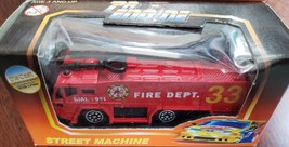 Pro Engine 911 Fire Dept #33 Street Machine Mini Die Cast Metal new - $3.95