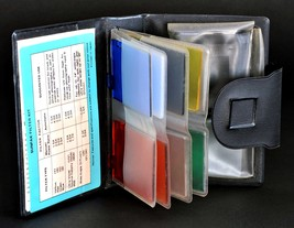 Sunpak Colored Filter Set in Wallet for Auto 522 Thyristor Flash MiNTY ! - $25.00