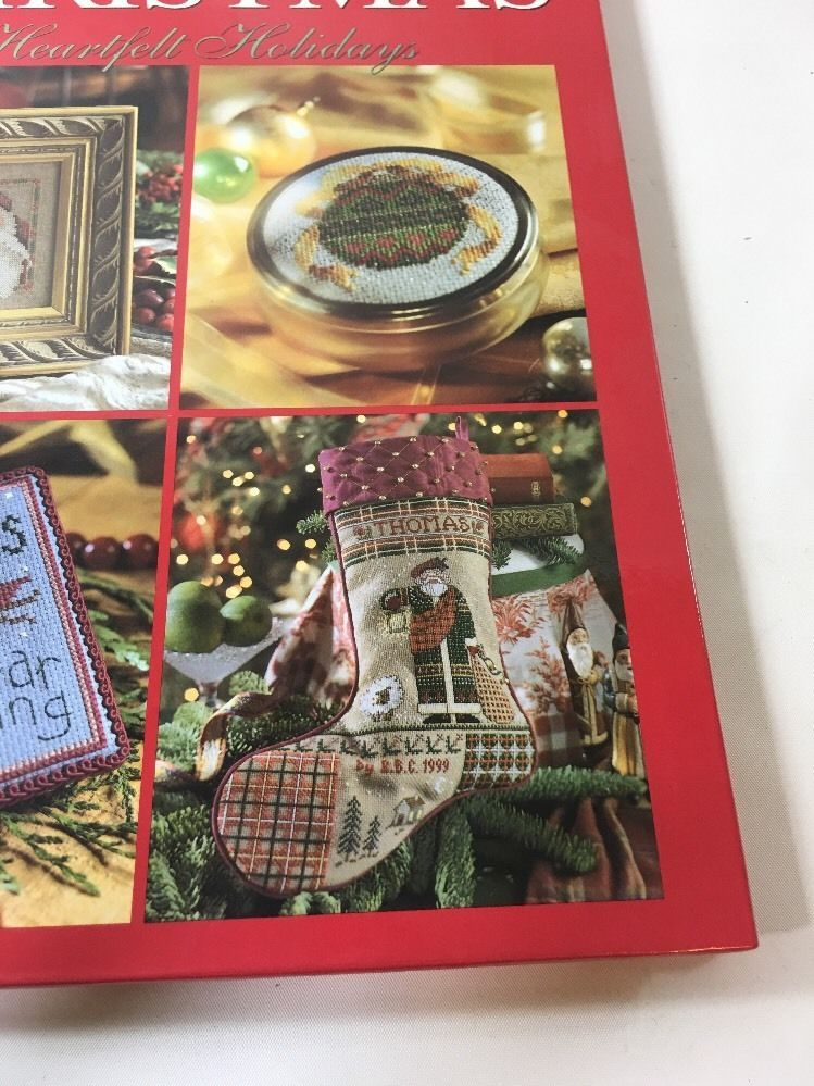 "Better Homes & Gardens ""A Cross-Stitch Christmas"" 128 page book, 1999 L2"