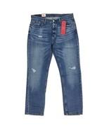 New Levi's 541 Athletic Fit Jeans Blue Distressed Denim 2-Way Stretch 'B... - $35.49