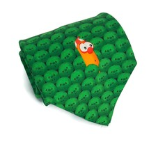 Veggie Tales Veggietales Men's Larry The Cucumber Silk Neck Tie Necktie ... - $12.16