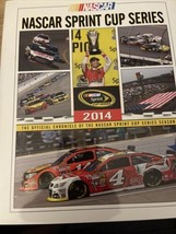 2014 NASCAR Sprint Cup HTF Yearbook VGC Kevin Harvick Champion Rare Edition - $123.75