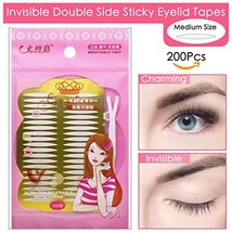 Ultra Invisible Double Eyelid Tape Stickers - 200Pcs/100Pairs Both Side ... - $8.31