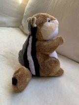 "Ganz Webkinz 9"" Chimpmunk Plush stuffed toy HM217. B2 Used nice Kids Doll Toy image 4"