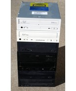 Lot of 7 PATA IDE Internal Desktop Optical Drives CDROM and CDRW - $13.95