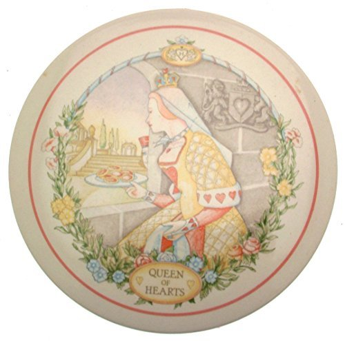 Wedgwood 1986 Childrens Wall Plaque Queen of Hearts Nursery Rhymes CP168 - $31.85