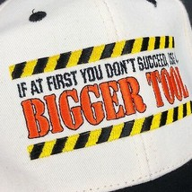 Vintage Snapback Hat Cap Dad Tools Handyman Gift If At First You Don't Succeed