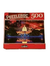 """Puzzlebug 500 Piece Puzzle Land of the Free 18.25""""  X 11"""" New COLORFUL - $6.23"""