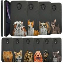Cute Dog Case for Alcatel 1x Evolve, Alcatel TCL LX(5059R) [Dual Layer Case] - $10.79