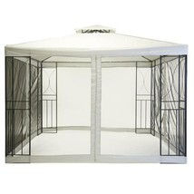 Garden Gazebo 3M X 3M - Outdoor Party Marquee With Fly Screen Mesh Curtains - $248.18