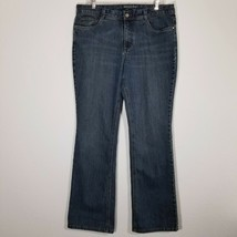 SONOMA Womens Stretch Blue Jeans Size 14 (31 Inseam) Boot Denim Pants  - $24.25
