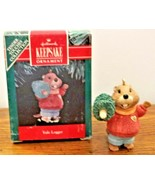 Hallmark Keepsake Ornament 1991 Yule Logger Tender Touches Collection NIBox - $7.91
