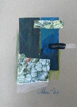 """Floral Fiesta"" original drawing/collage - $20.00"