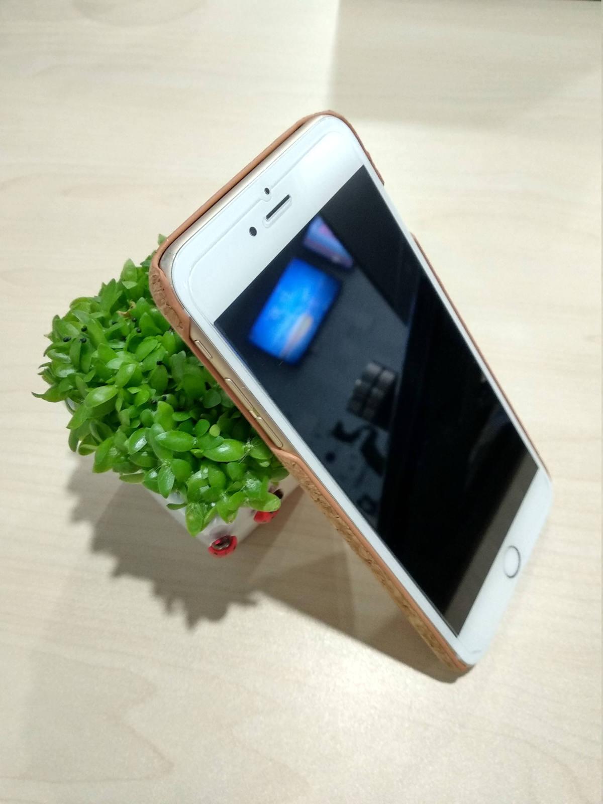 EcoQuote iPhone 6 Plus / 6s Plus Handmade Phone Case Cork Finishing Eco Friendly