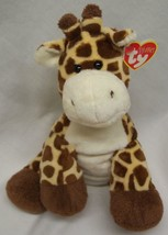 "Ty Pluffies Soft Giraffe 8"" Plush Stuffed Animal New - $18.32"