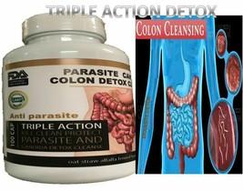 Remove Parasite ANTI PARASITE & CANDIDA DETOX Body Cleanse ULTRA FLASH C... - $30.91