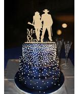 Buythrow® Cool Cowboy Style Bride And Groom Hold A Gun Mr Mrs Wedding De... - $21.34