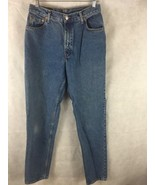 Authentic Levi's 550 High Waist Mom Jeans Size 12 L Relaxed Fit Tapered Leg - $24.70