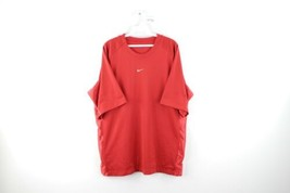 Vtg 90s Nike Mens Large Travis Scott Stitched Center Swoosh Mesh Jersey ... - $49.45