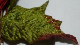 Unbranded Red Curly Qs Holly Berries Holiday Decoration Poinsettia image 5