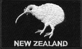New Zealand kiwi bird flag embroidered applique iron-on patch S-1572 - $3.95