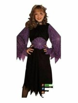 xcg276 NIP Child WEB WITCH Halloween Costume Large 12-14 - £20.06 GBP