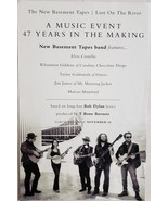"""The New Basement Tapes """"Lost On The River"""" poster 11"""" x 17"""" - $7.95"""
