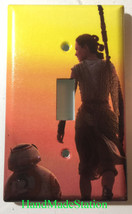 Star Wars BB8 & Rey Light Switch Power Outlet wall Cover Plate Home decor