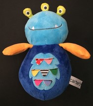 Carter's Wobbly Alien Plush With Chime Lovey Stuffed Animal Toy Musical ... - $14.84