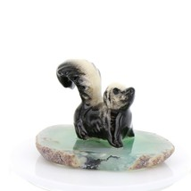 Hagen Renaker Miniature Skunk Baby on Base Stepping Stones Figurine #2739