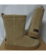 UGG Classic Short Waterproof Sand Suede Sheepskin Boots Size US 6.5, EU ... - $127.66