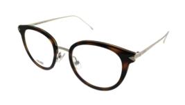 Fendi Eyeglasses FF0166 V4Z 48 Rx Eyeglasses Frames Havana Brown 48-20-1... - $158.39