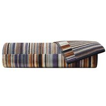 Missoni Home Jazz Color 165 Towels - Striped Terry Browns & Blues - £13.81 GBP+