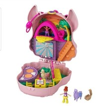Polly Pocket Llama Music Party Compact with Stage Spinning Dance Floor - $23.71