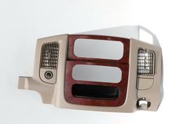 02-05 Dodge Ram 1500 2500 3500 Pick-up Dash A/C Radio Control Bezel Wood Trim image 2