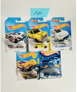 Hot Wheels Cars Mixed Lot of 5 NEW Lot #16 - $9.70