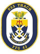 USS Thach Sticker Military Armed Forces Navy Decal M219 - $1.45+