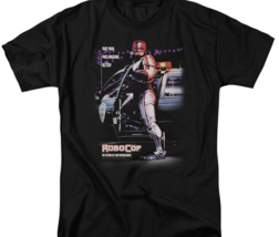 RoboCop Retro 80's action movie Peter Weller Cyborg graphic t-shirt MGM105 image 3