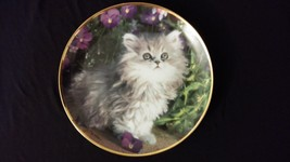 1994 Kitty Cat & Violets Purrfection Nancy Matthews Collectors Edition P... - $25.00