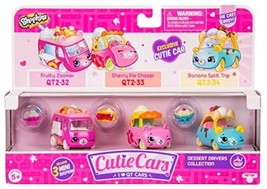 Shopkins Cutie Cars Three Pack - Dessert Drivers Collection - $32.91