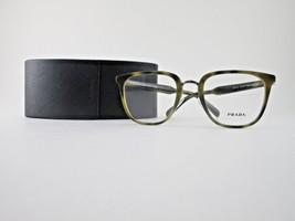 Prada VPR 10T U6A-101 Eyeglasses Havana Green Optical Frame - $83.95