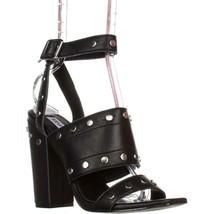 Steve Madden Jansen Ankle-Strap Dress Sandals, Black, 6.5 US - $38.39