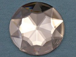 50mm Crystal H102 Flat Back Round Acrylic Jewels Pro Grade Individually ... - $9.65