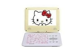Hello Kitty Portable DVD Player Yellow 9 inch AVOX Sanrio ADP-9030MKTY-P... - $200.99